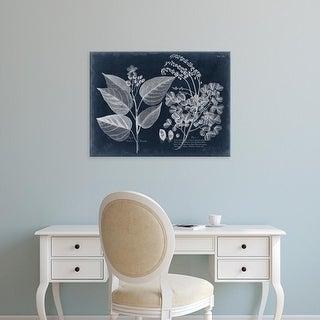 Easy Art Prints Vision Studio's 'Foliage on Navy III' Premium Canvas Art