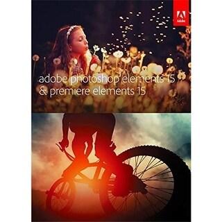 Adobe 65273582 Photoshop Elements 15.0 & Premiere Elements 15