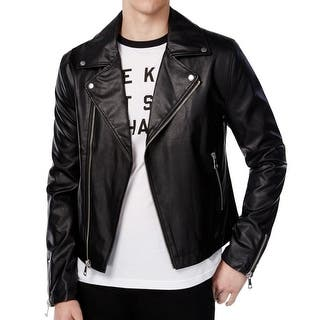 WHT SPACE NEW Black Shaun White Large L Faux-Leather Motorcycle Jacket|https://ak1.ostkcdn.com/images/products/is/images/direct/f396253e04b893365b49cf6f98c0f0822a2c7860/WHT-SPACE-NEW-Black-Shaun-White-Large-L-Faux-Leather-Motorcycle-Jacket.jpg?impolicy=medium