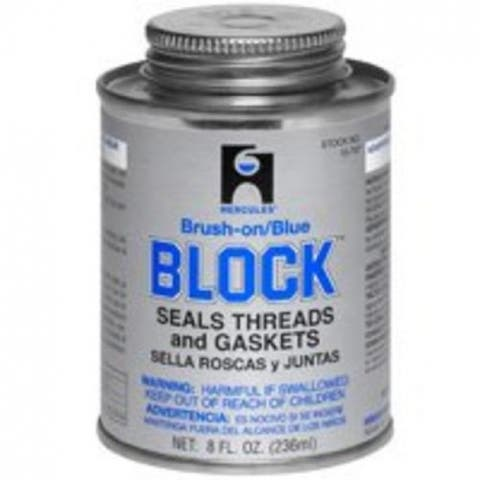 Hercules 15707 Pipe Thread Sealant Block Putty, 1/2 Pt.