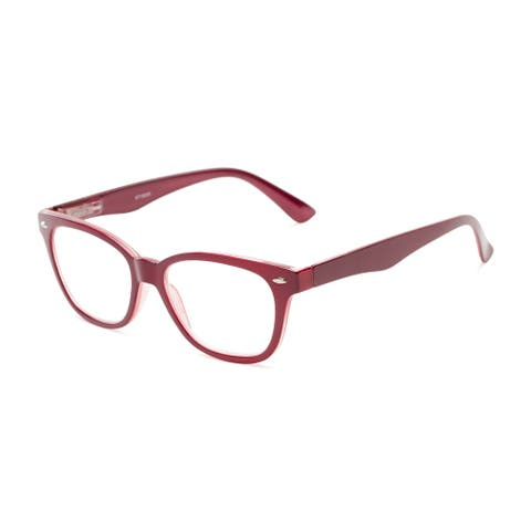 Readers.com The Ira Retro Square Reading Glasses