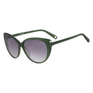 Nine West Womens Cat Eye Sunglasses Gradient Oversized - o/s