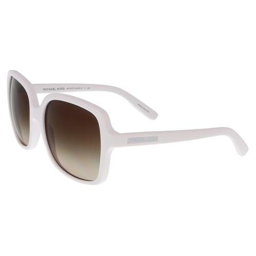 Michael Kors MK6033 ASTRID II 306413 White Square Sunglasses
