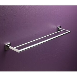 "Bissonnet 754510 Quaruna 24"" Double Towel Bar"