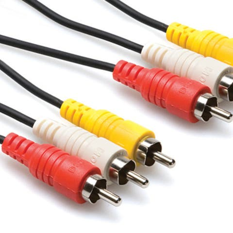 Hosa Technology Vra315 15 M Composite Av Cable - Rca To Rca
