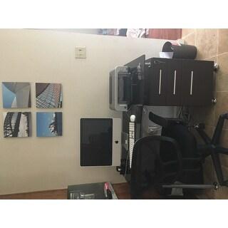 Modern Design Office Locking File Cabinet Computer Desk