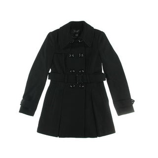 Victoria's Secret Womens Wool Double-Breasted Trench Coat - 10