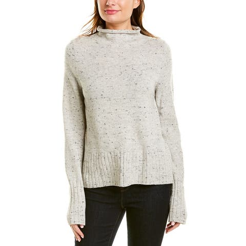 Madewell Turtleneck Wool-Blend Sweater - SU2150-DONEGAL SMOKE