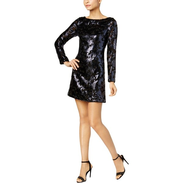 Vince Camuto Womens Party Dress Cocktail Sequined