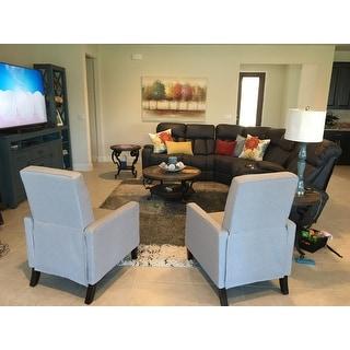 Peachy Top Product Reviews For Dalton Fabric Recliner Club Chair By Customarchery Wood Chair Design Ideas Customarcherynet