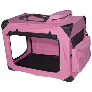 Generation Ii Deluxe Portable Soft Crate Small Pink