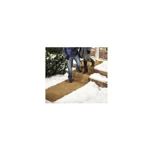 Extra Wide No Slip Ice And Snow Carpet- 10 Feet Long x 30 Inches Wide (Set Of 2)