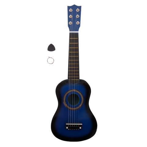 "21"" Acoustic Guitar Pick String 5 Colors"