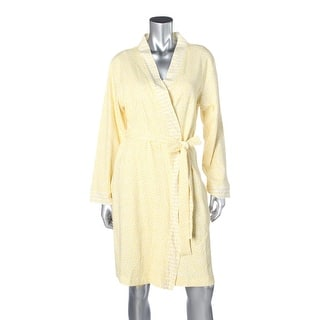 Carole Hochman Womens Daytime Ditsy Short Robe Cotton Printed|https://ak1.ostkcdn.com/images/products/is/images/direct/f3a09ce2f42605e18c8f8a5bea3df4503999bb1f/Carole-Hochman-Womens-Daytime-Ditsy-Short-Robe-Cotton-Printed.jpg?impolicy=medium