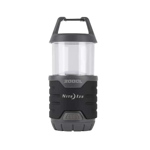 Nite Ize R200CL-09-R8 Radiant 200 Collapsible Flashlight Lantern, 4/AA