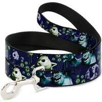 Dog Leash - Monsters University Sully & Mike Poses GRRRRR!