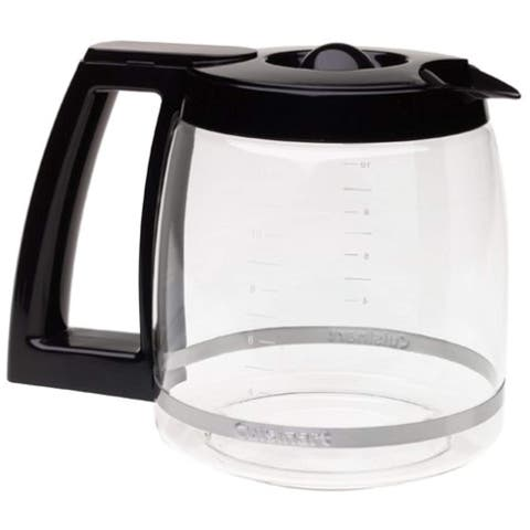 Replacement Carafe Dcc1200/Dgb500 Nickel 12-cup Replacement Carafe (Black)