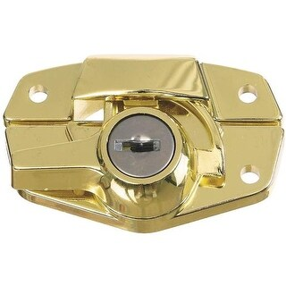 National Mfg. Brs Keyed Sash Lock N183723 Unit: PKG