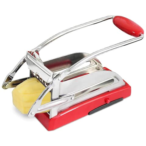 Harold Import 20000 French Fry Cutter With Suction Base, 18/8 Stainless Steel