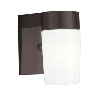 "Sunset Lighting F4511 1 Light 7"" Height Outdoor Wall Sconce"