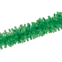 Club Pack of 24 Bright Green Festive Tissue Festooning Decorations 25'