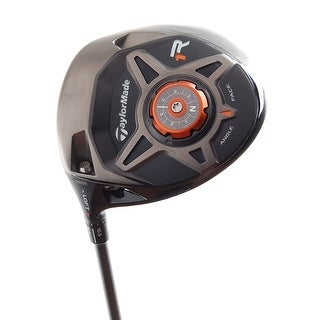 New TaylorMade R1 Black Driver LEFT HANDED w/ Speeder57 Stiff Shaft (NO HC)