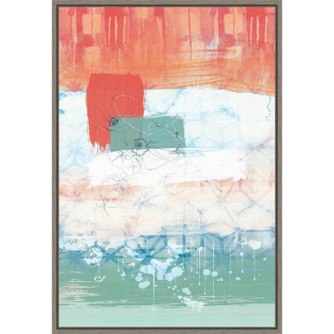 Unexpected Bloom No. 2 by Louis Duncan-He Framed Canvas Art