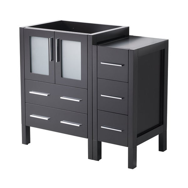 """Fresca FCB62-2412 Torino 36"""" Single Free Standing Engineered Wood Vanity Cabinet Only"""