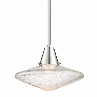 "Designers Fountain LED89730 Aida Single Light 11"" Wide LED Pendant"
