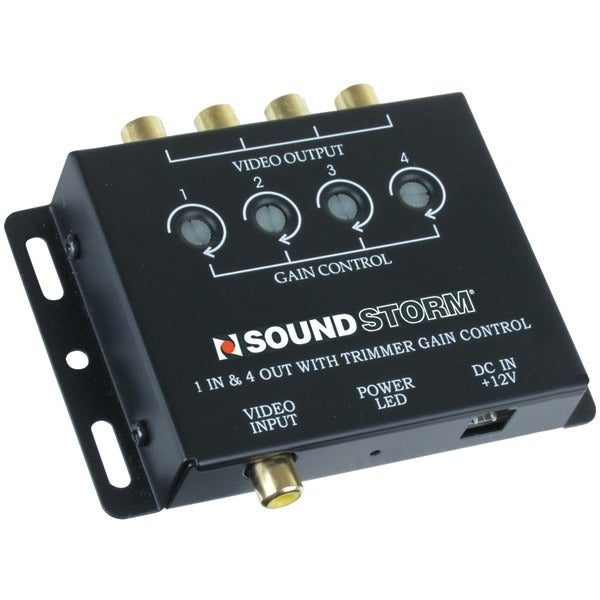 Soundstorm Sva4 Video Signal Amp With 1 Input & 4 Outputs
