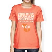 This Is My Human Costume Shirt Womens Cute Halloween Clothes Idea
