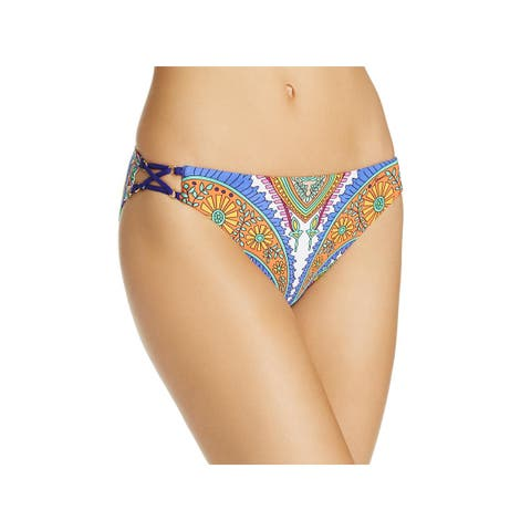 Trina Turk Womens Pasiley Hipster Swim Bottom Separates