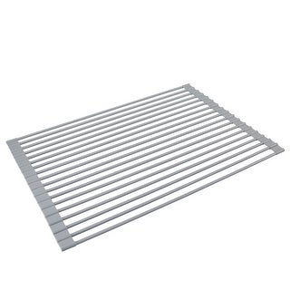 """Link to Kitchen Details Silicone Coated Roll Up Over the Sink Drying Rack - 20.5""""x 13""""x .25"""" Similar Items in Kitchen Storage"""