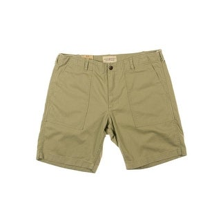 Denim & Supply Ralph Lauren Mens Khaki Shorts Twill Utility
