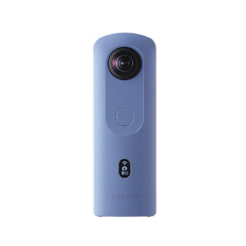 Ricoh Theta SC2 360-Degree 4K Spherical VR Camera (Blue)