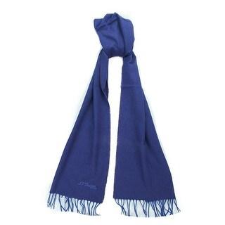 St. Dupont Paris 100WS VB Purple/Blue 100% Cashmere Classic Mens' Scarf