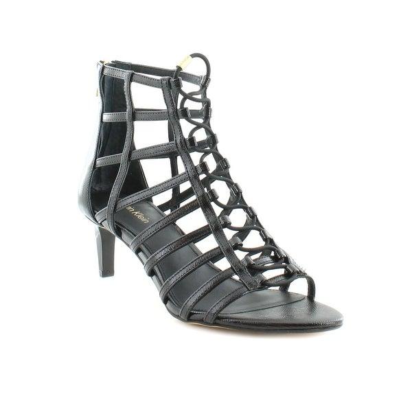Calvin Klein Neah Women's Sandals & Flip Flops Black
