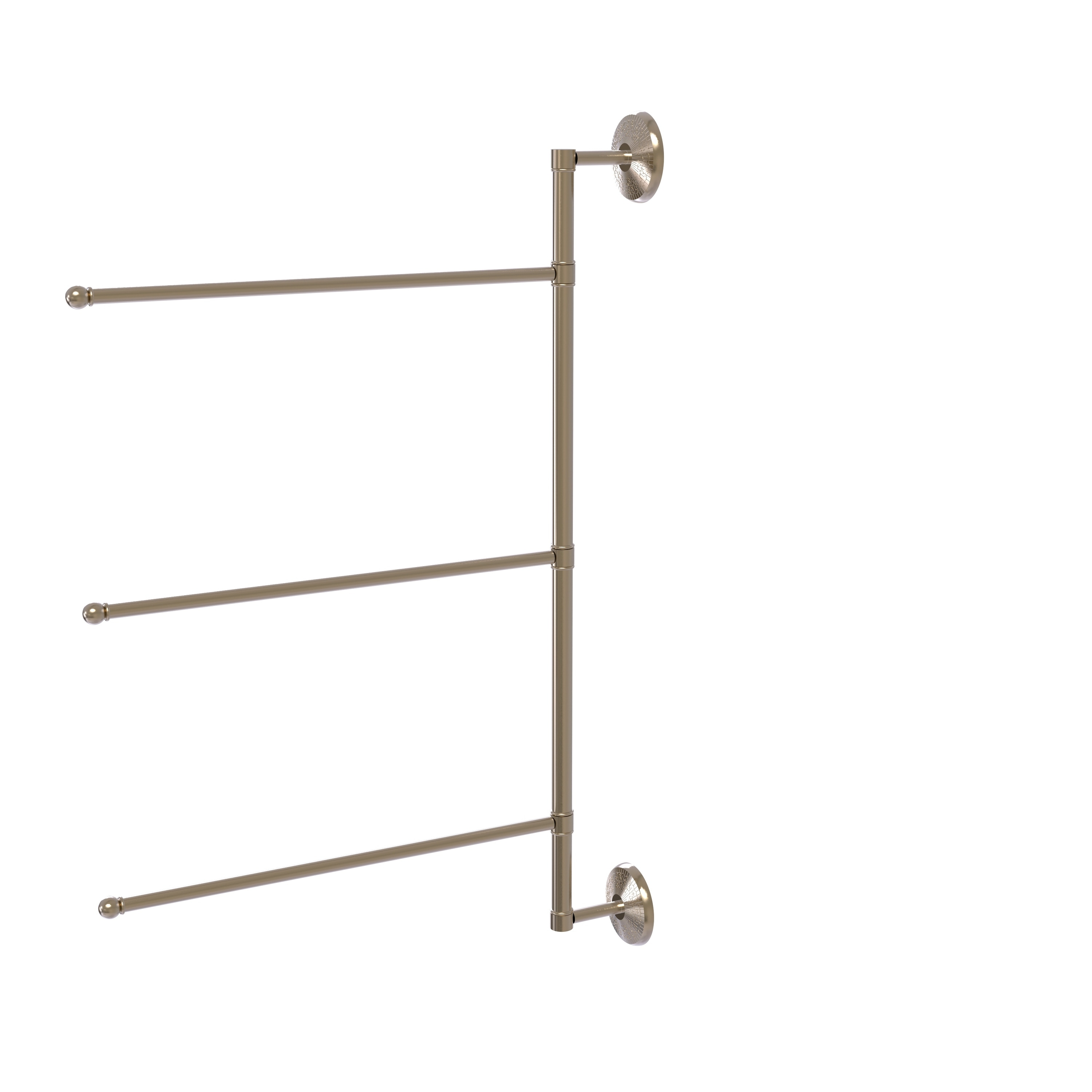 Allied Brass PMC-16-SN Prestige Monte Carlo Collection Towel Ring Satin Nickel