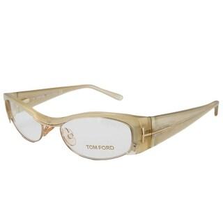 Tom ford TF 5076/V 467 Blonde/Gold Oval Optical Frame