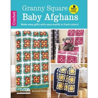 Leisure Arts-Granny Square Baby Afghans