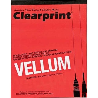"""Clearprint - Design and Sketch Pad - Unprinted - 18"""" x 24"""""""