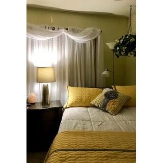 Chic Home Nero QIB Yellow Quilt 8-Piece Set