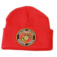 a7e49c6504a Military Embroidery Law Enforcement Beanie United States Marine Corp
