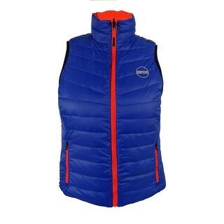 Ralph Lauren Women's Reversible Vest - Blue/Orange - l