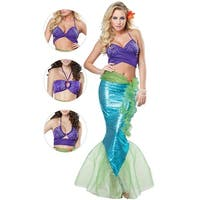 California Costumes Mythic Mermaid Adult Costume - Purple/Blue