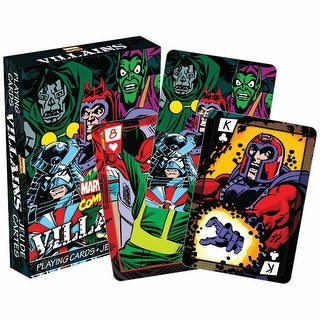 Villians Playing Cards