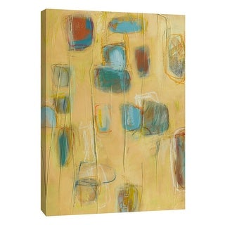 """PTM Images 9-105421  PTM Canvas Collection 10"""" x 8"""" - """"Block Party 3"""" Giclee Abstract Art Print on Canvas"""