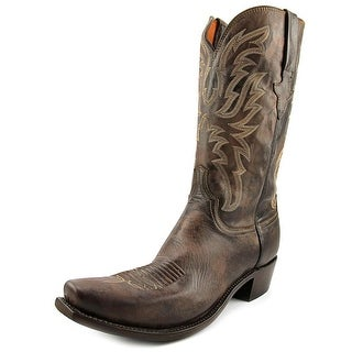 Lucchese N1663 Square Toe Leather Western Boot