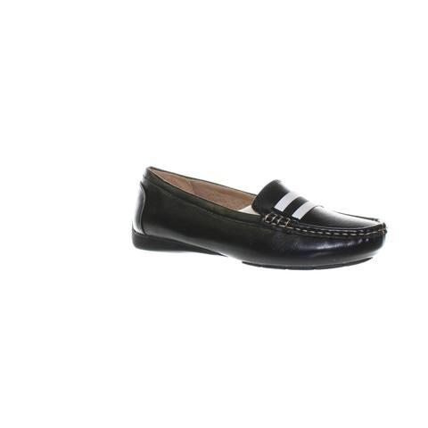 LifeStride Womens Vila Black Loafers Size 6 (C,D,W)