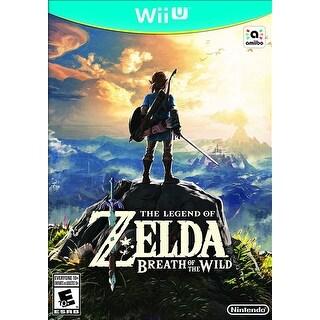 Zelda Breath of the Wild - Nintendo Wii U